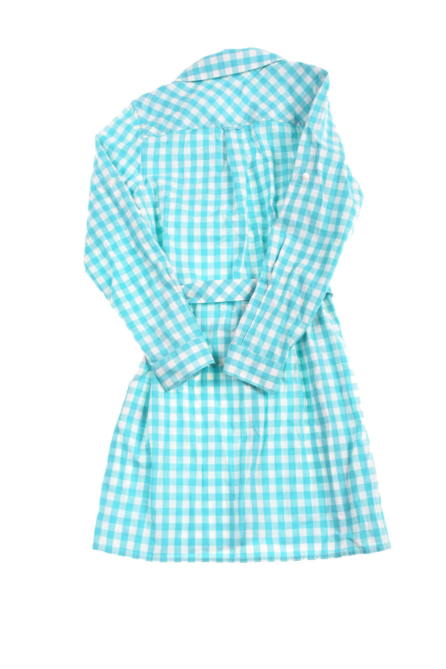 USED Vineyard Vines Girl's Dress 8 Blue & White