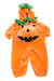 USED Gildan Toddler Halloween Pumpkin Costume 2/3 Orange