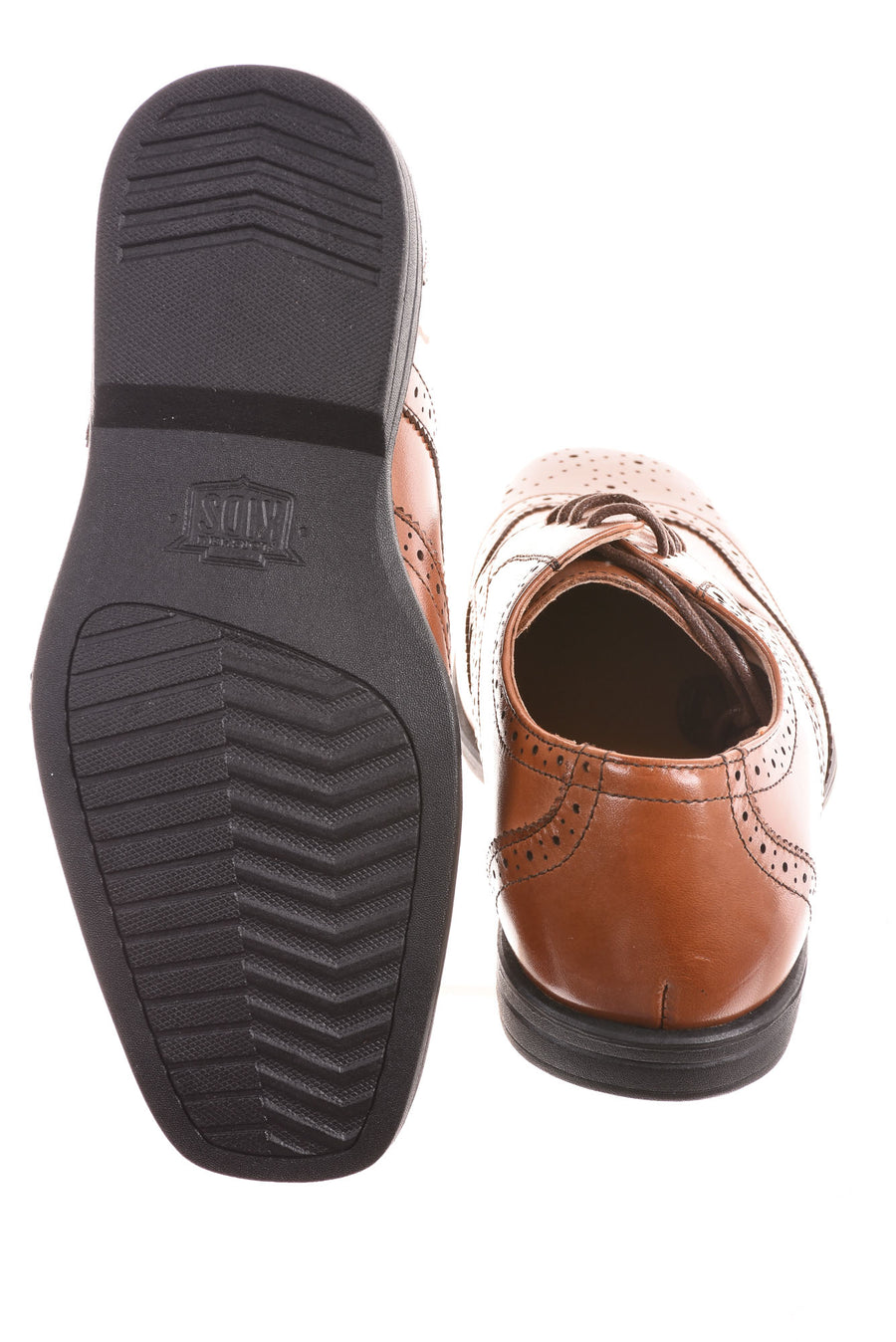 USED Florsheim Boy's Shoes 3 Brown