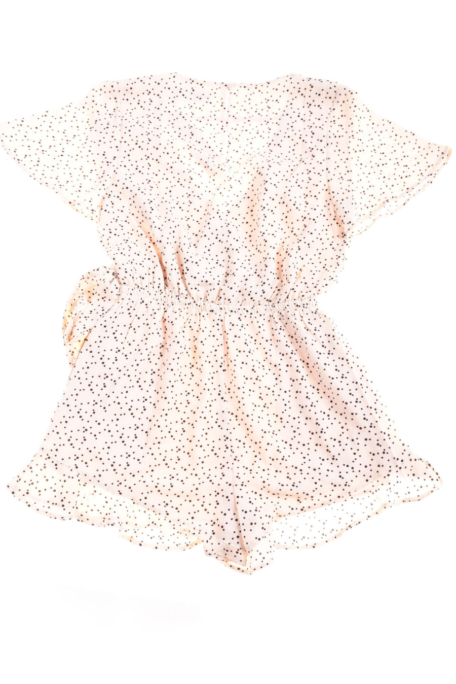NEW MINKPINK Women's Romper Small Cream & Black