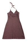 USED Lacoste Women's Dress 34 Brown
