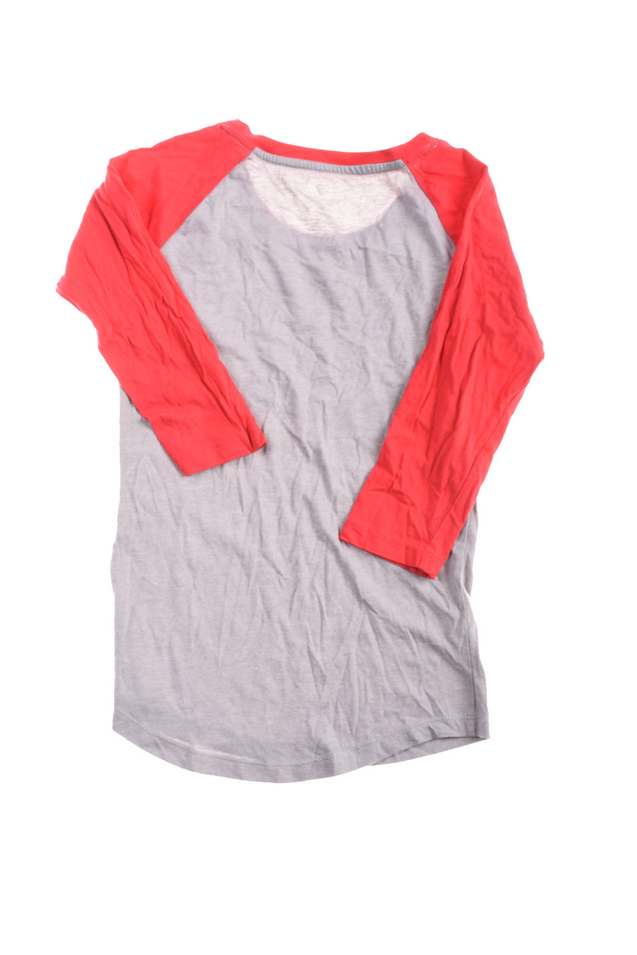 USED Colosseum Women's Top Small Red & Gray