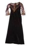 USED Jovani Women's Dress Set 14 Brown & Bronze Tone