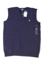 NEW Polo Ralph Lauren Boy's Vest X-Large Blue