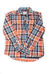 NEW American Eagle Men's Shirt Medium Orange & Blue