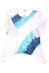 NEW Christopher & Banks Women's Top Large White & Blue