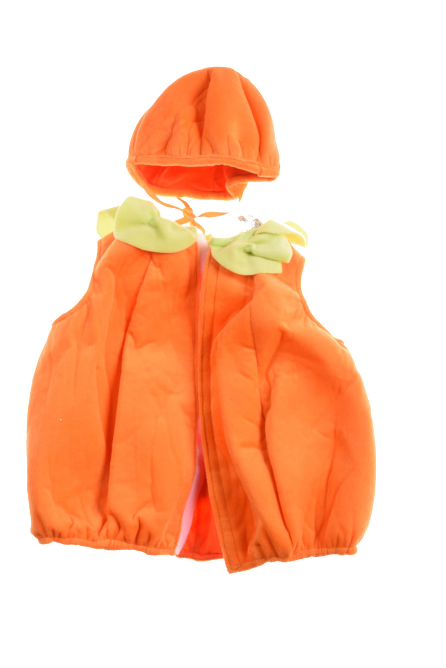 USED Fun World Baby Pumpkin Halloween Costume 12-24 Months Orange