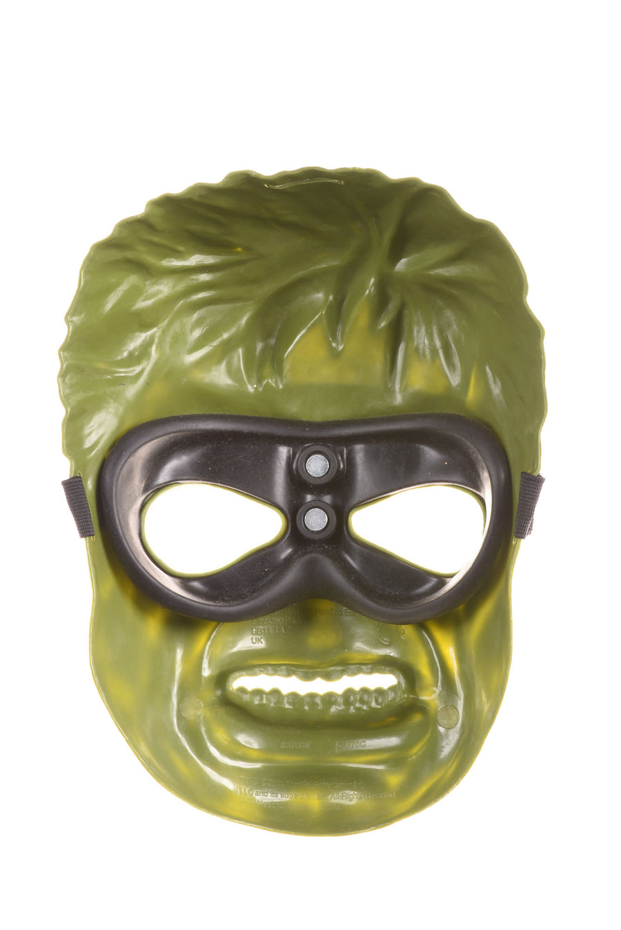 USED Hasbro Boy's Hulk Halloween Mask N/A Green