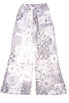 NEW Sabo Skirt Women's Pants X-Small Gray & White