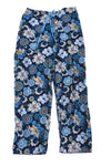 USED Vera Bradley Women's Pajama Pants X-Small Blue & Green