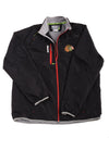 USED Reebok Men's Chicago Blackhawks Jacket X-Large Black