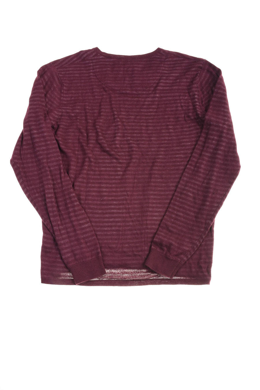 USED Calibrate Men's Sweater Large Burgandy