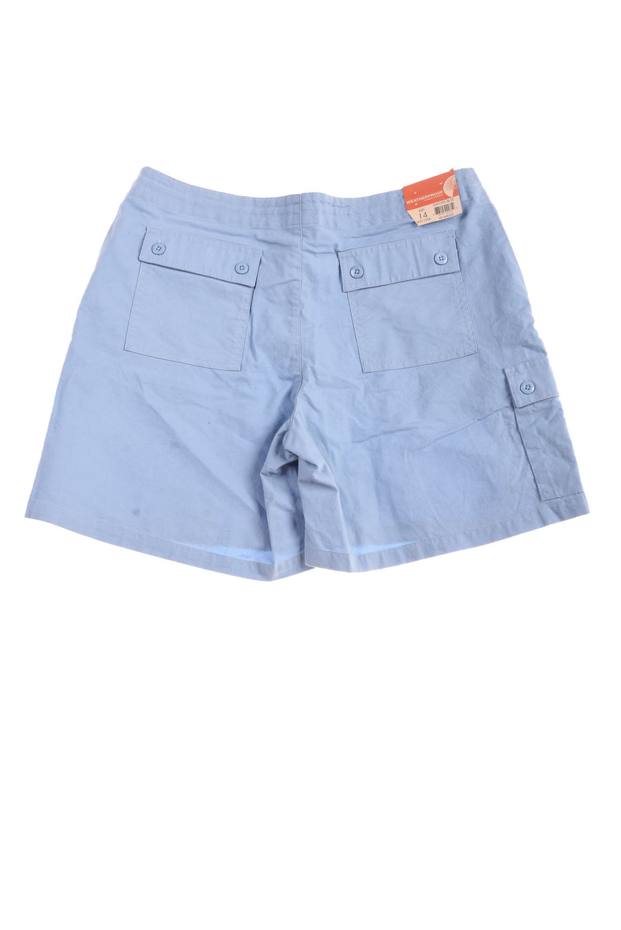NEW Weatherproof Garment Company Women's Shorts 14 Oxford Blue