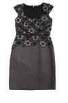 NEW Ann Taylor Women's Dress 4 Black & Gray