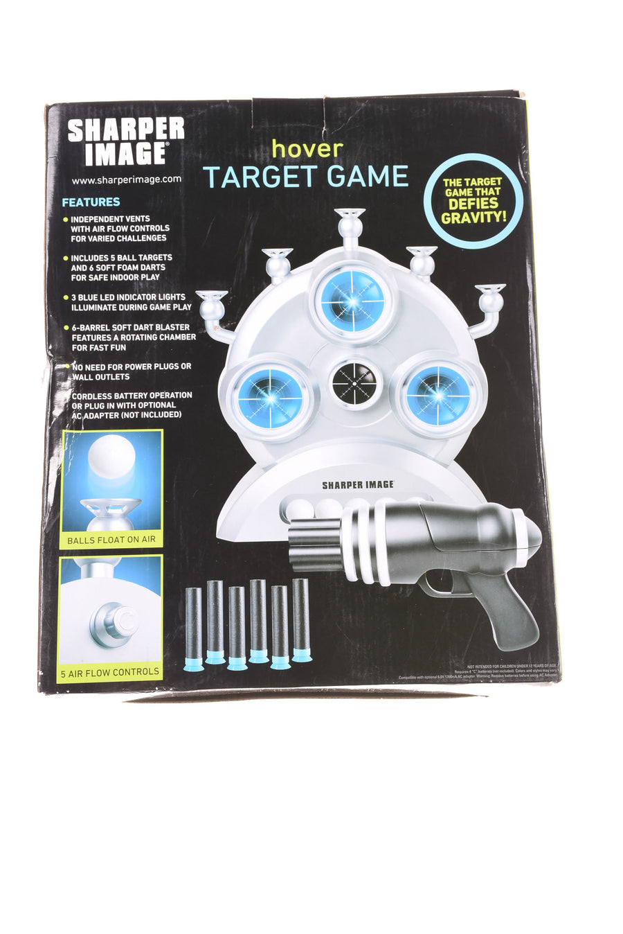 USED Sharper Image Hover Target Game N/A N/A