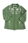 USED DC Girl's Sweater X-Small Green