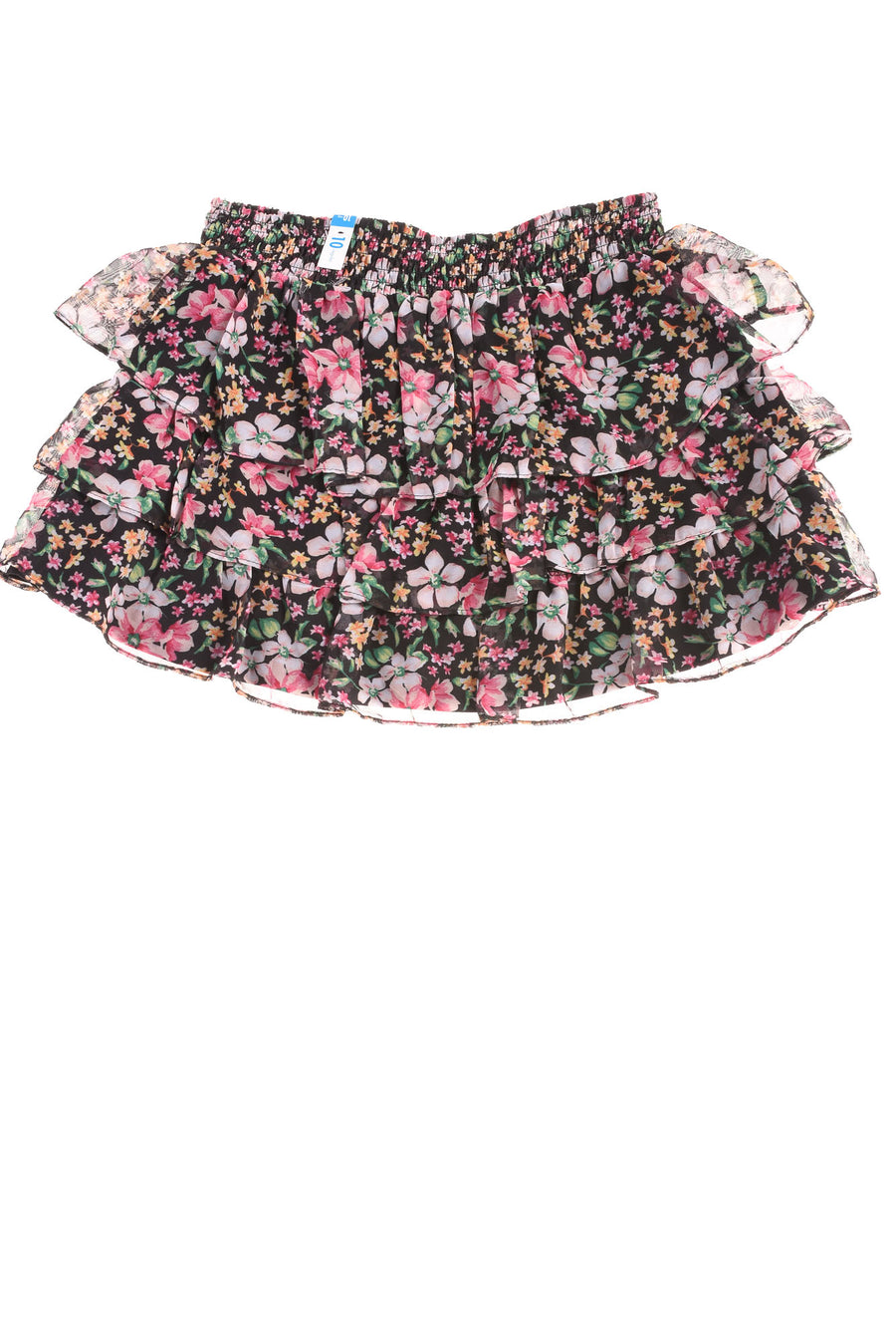 NEW Justice Girl's Skirt 10 Black & Pink