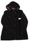 NEW Liz Claiborne Women's Coat Large Black