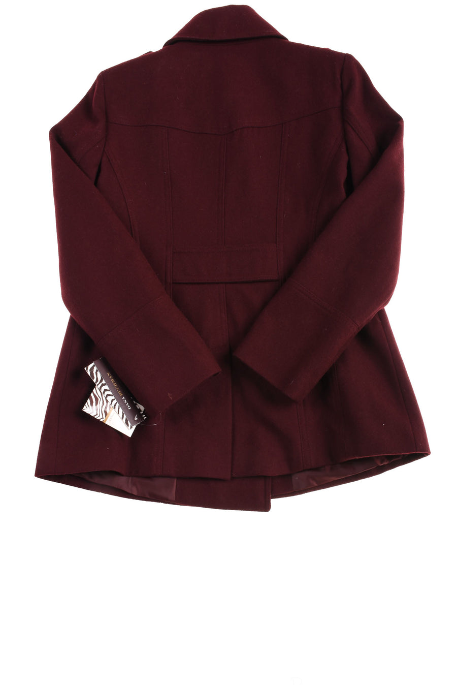 NEW Dana Buchman Women's Coat Medium Burgandy
