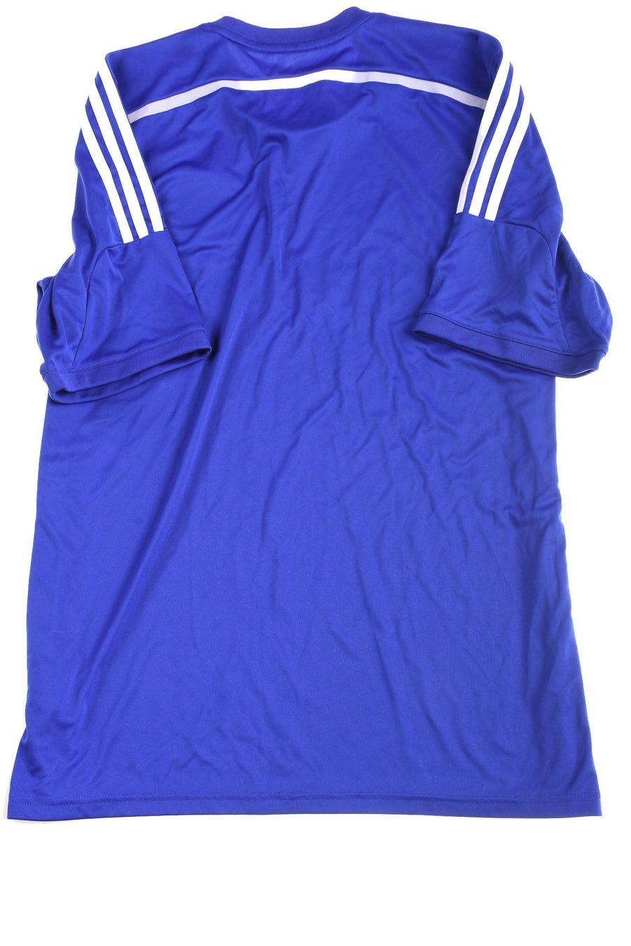 USED Adidas Men's Shirt X-Large Blue