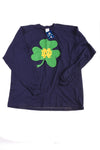 NEW Pinnacle Men's Notre Dame Shirt X-Large Blue & Green