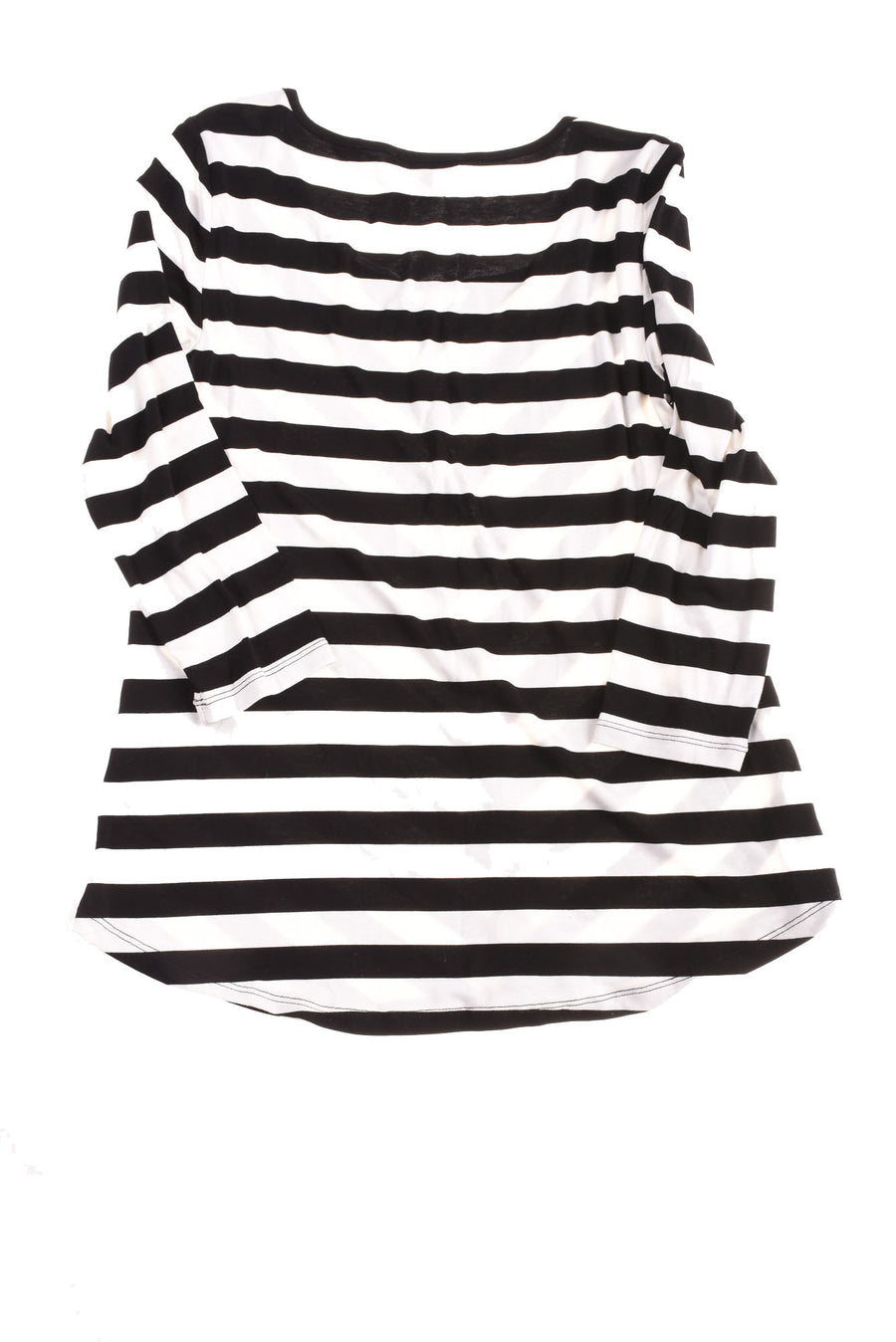 USED Cable & Gauge Women's Top Small Black & White