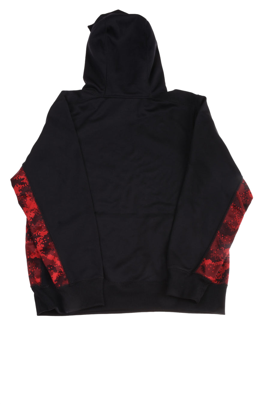 USED Nike Boy's Pullover Hoodie X-Large Black & Red