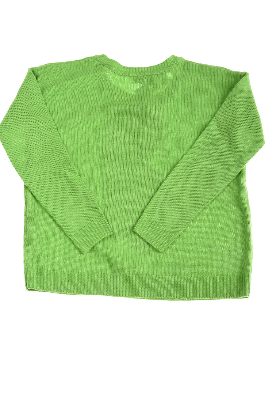 NEW Faith & Zoe Women's Sweater X-Large Green