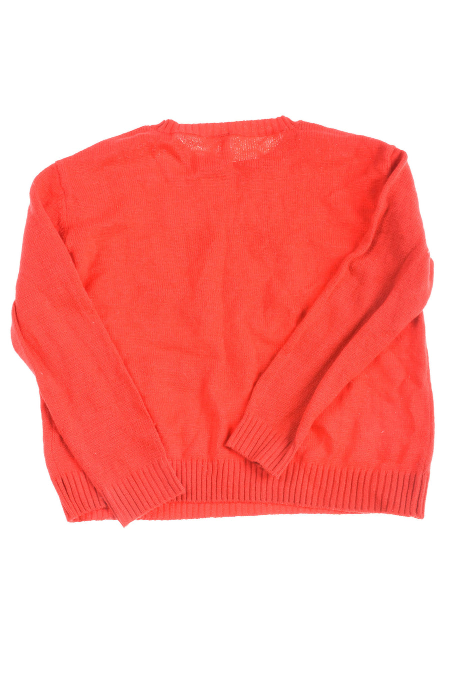 USED Divided By H&M Women's Sweater Medium Red