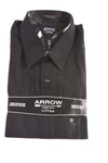 NEW Arrow Men's Shirt 34/35 Black