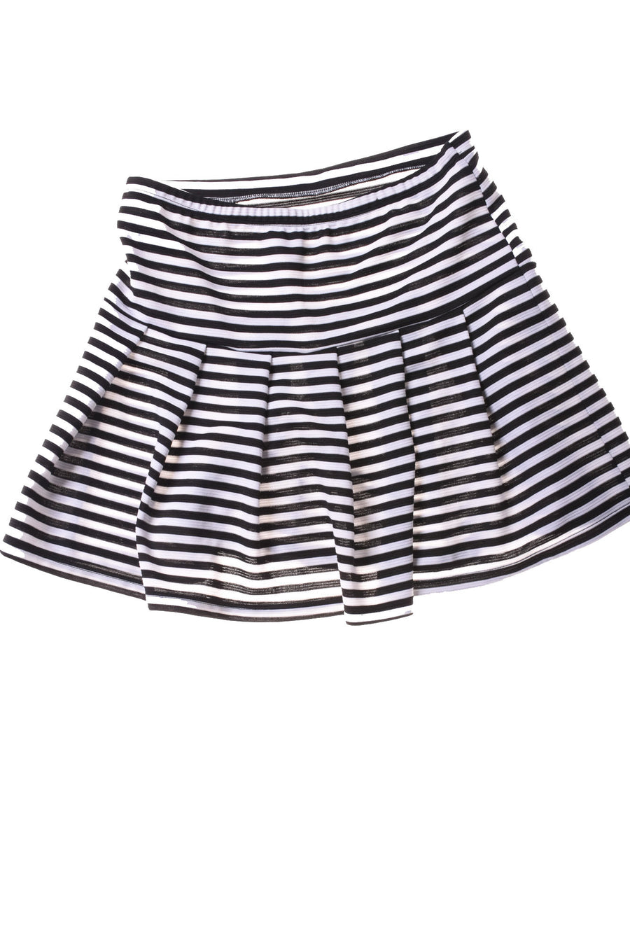 USED Lily White Girl's Skirt Small Black & White