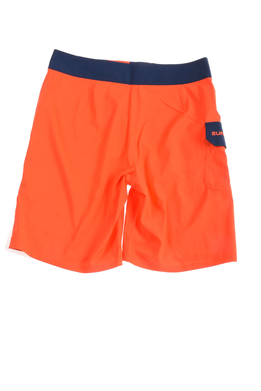 USED Under Armour Men's Swim Shorts 31 Orange & Blue