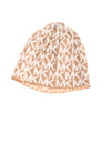 USED Michael Kors Women's Hat One Size Tan & White