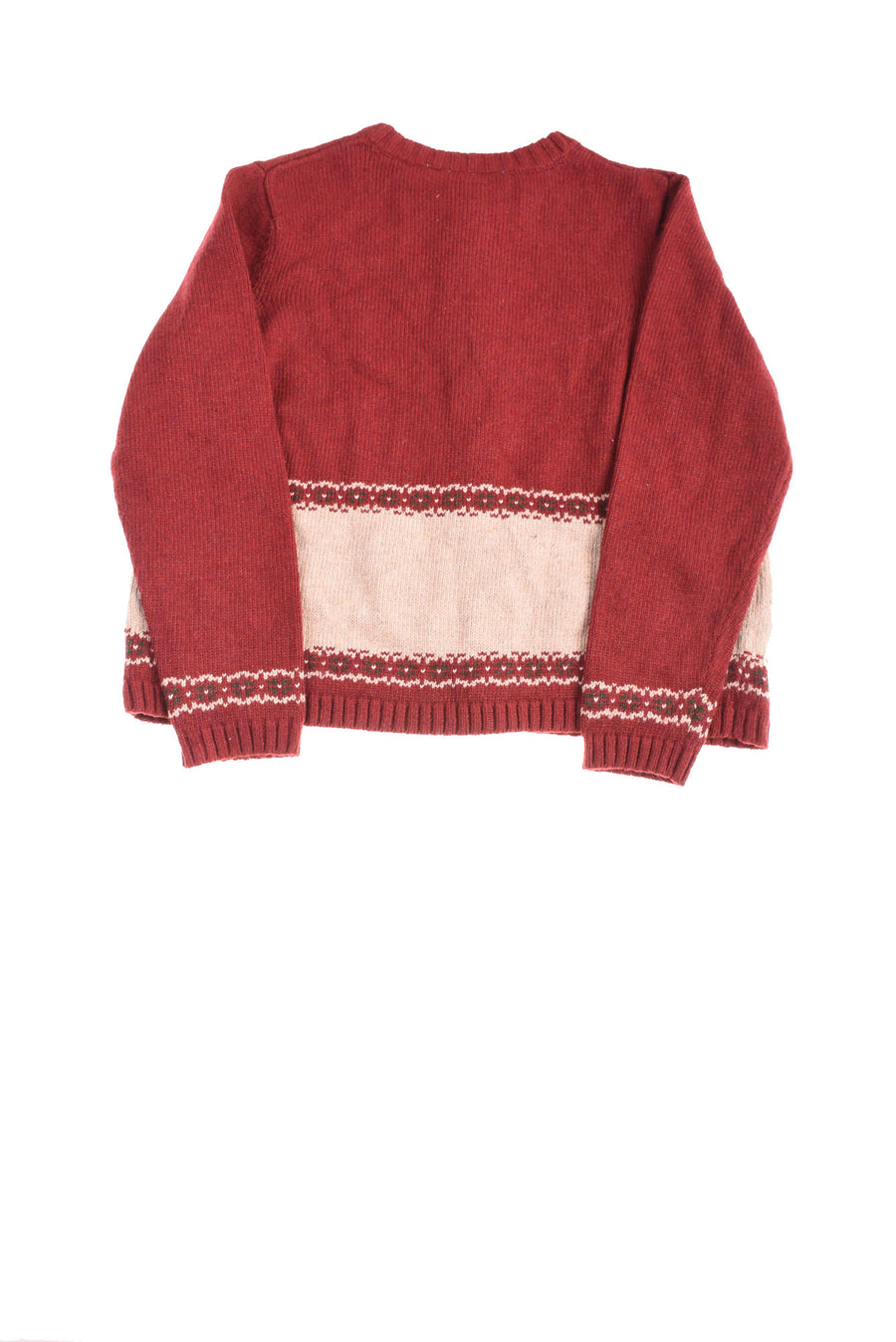 NEW Croft & Barrow Women's Petite Sweater P Large Red