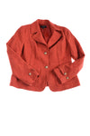 USED Talbots Women's Coat 12 Burnt Orange