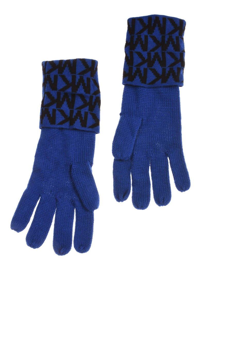 USED Michael Kors Women's Gloves N/A Blue & Black