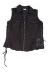 USED Harley Davidson Women's Vest Large Black