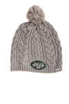 USED Nineteen 47 Women's New York Jets Hat One Size Gray