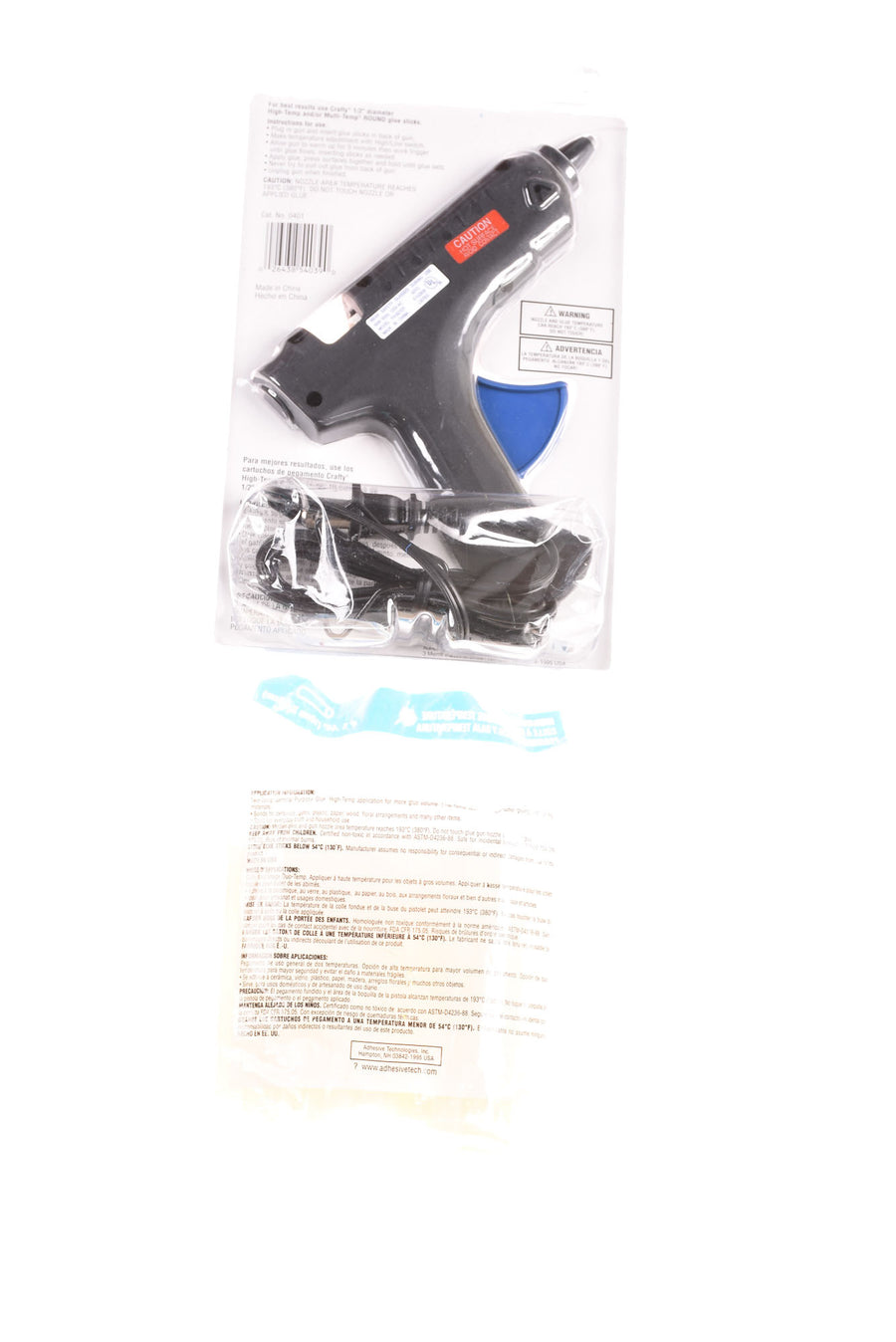 NEW Adhesives Technologies Glue Gun N/A Black