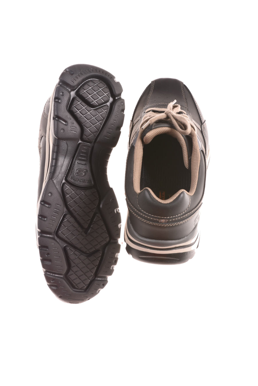 USED Skechers Men's Shoes 11.5 Black & Tan