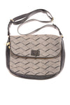 USED Fossil Women's Handbag N/A Taupe & Black
