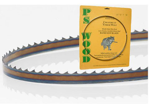 "PS Wood - Timber Wolf 3/4"" x 3TPC Band Saw Blade - Harvey Woodworking"