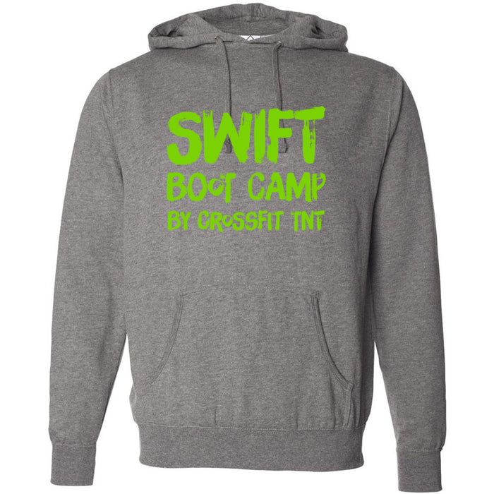 CrossFit TNT - 100 - Swift Green - Independent - Hooded Pullover Sweatshirt