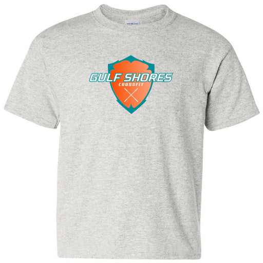 Gulf Shores CrossFit - 100 - Standard - Gildan - Heavy Cotton Youth T-Shirt