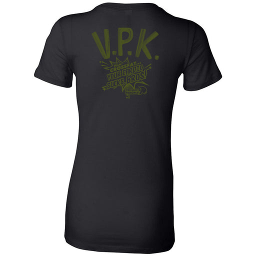 CrossFit Panoply - 200 - VPK Military Green - Bella + Canvas - Women's The Favorite Tee