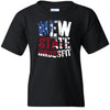 New State CrossFit - 100 - Flag - Gildan - Heavy Cotton Youth T-Shirt