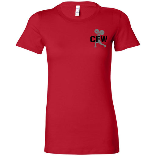 CrossFit Waukee - 200 - CFW Lifter - Bella + Canvas - Women's The Favorite Tee