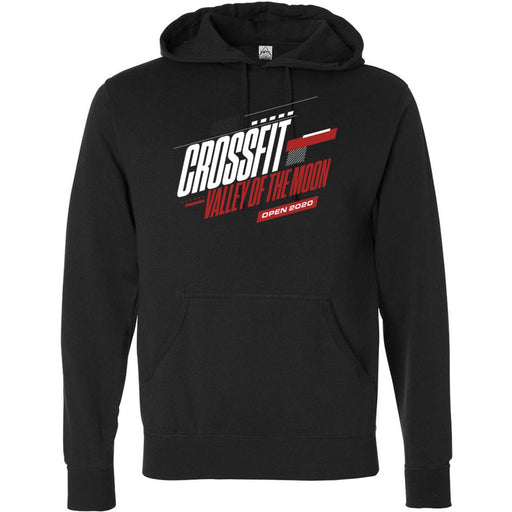 CrossFit Valley of the Moon - 100 - 2020 Open 20.1 - Independent - Hooded Pullover Sweatshirt