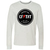 CrossFit TNT - 100 - Badge - Bella + Canvas 3501 - Men's Long Sleeve Jersey Tee