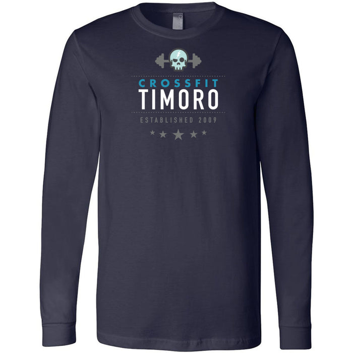 CrossFit Timoro - 100 - Standard - Bella + Canvas 3501 - Men's Long Sleeve Jersey Tee